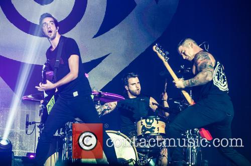 All Time Low, Jack Barakat, Rian Dawson and Zack Merrick 9
