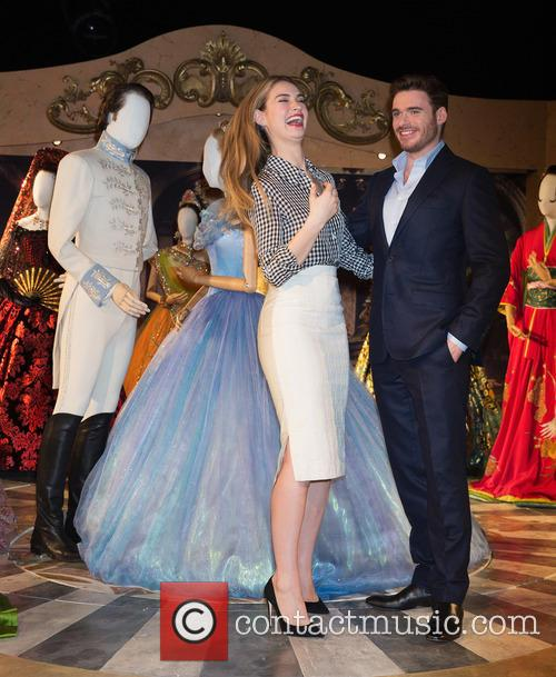 Lily James and Richard Madden 7