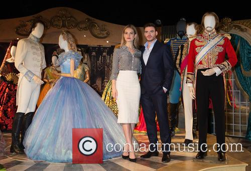 Lily James and Richard Madden 1