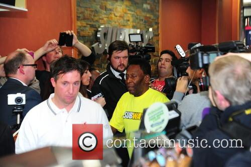 Pele, Robbie Fowler and Steve Mcmananam 2