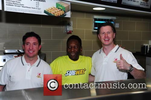 Pele, Robbie Fowler and Steve Mcmananam 4