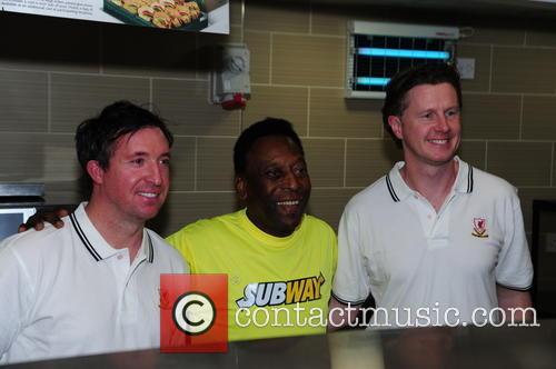 Pele, Robbie Fowler and Steve Mcmananam 5