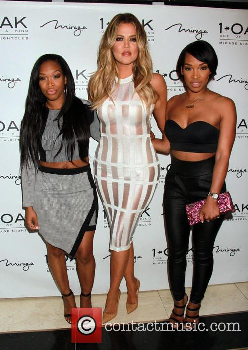 Khadijah Haqq, Khloe Kardashian and Malika Haqq 1