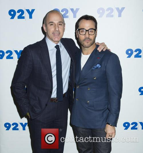 Matt Lauer and Jeremy Piven 3