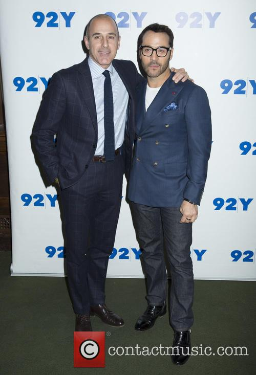 Matt Lauer and Jeremy Piven 4