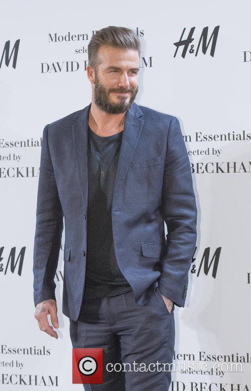 David Beckham presents the Modern Essentials collection by...