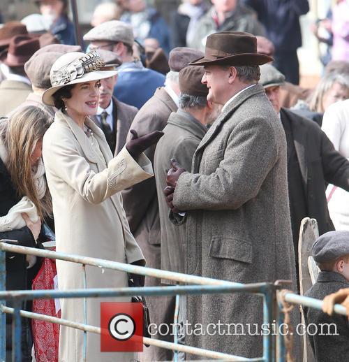 Hugh Bonneville and Elizabeth Mcgovern 3