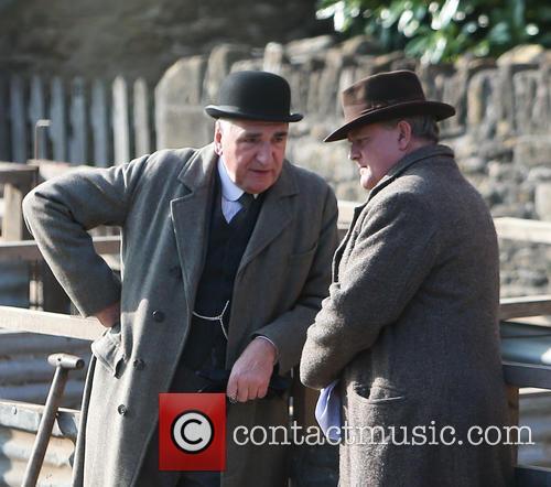 Jim Carter and Hugh Bonneville 2