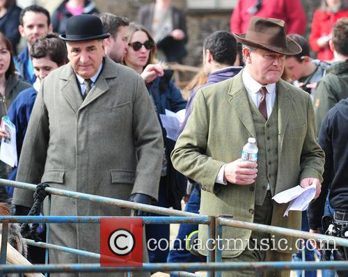 Jim Carter and Hugh Bonneville 2