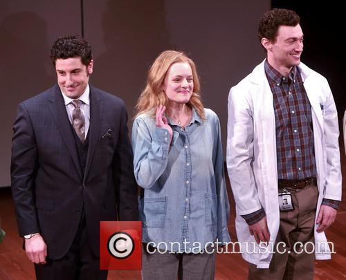 Jason Biggs, Elisabeth Moss and Bryce Pinkham 6