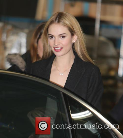 Lily James 1