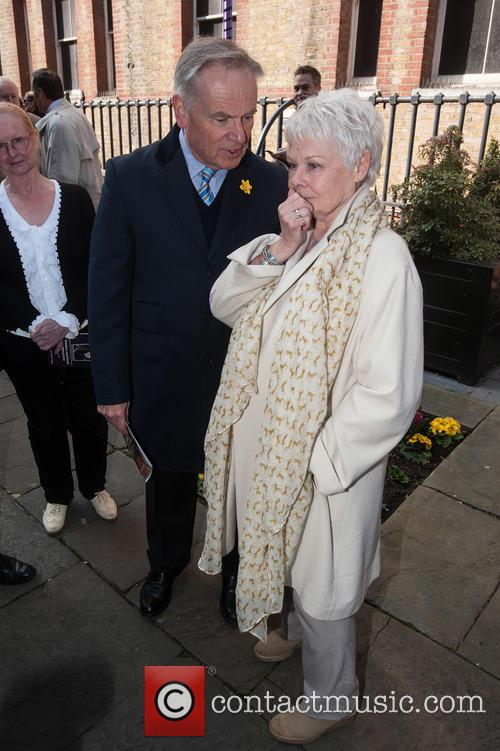 Jeffrey Archer and Dame Judi Dench 1