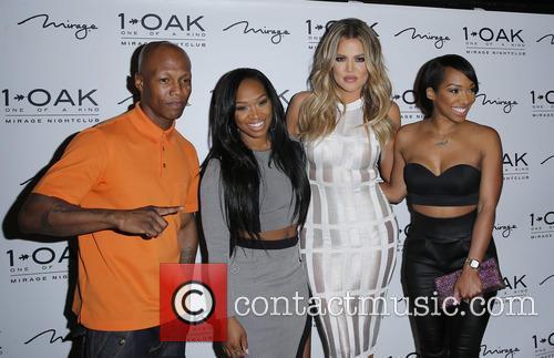 Zab Judah, Khadijah Haqq, Khloe Kardashian and Malika Haqq 1