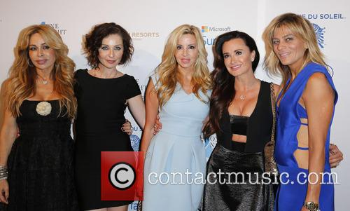 Faye Resnick, Guest, Camille Grammar and Kyle Richards 8