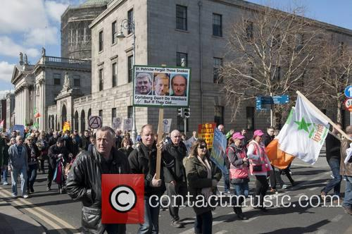 Irish Water Protesters 4