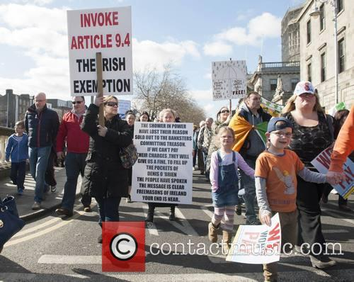 Irish Water Protesters 5