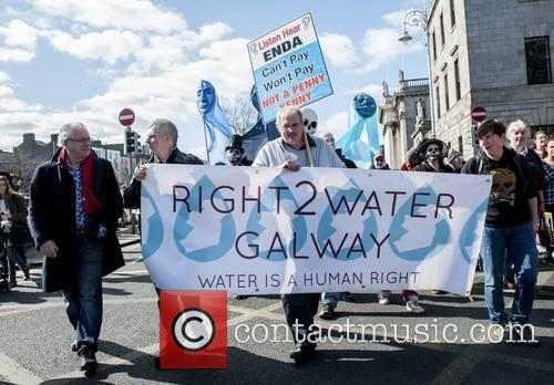 Irish Water Protesters 8