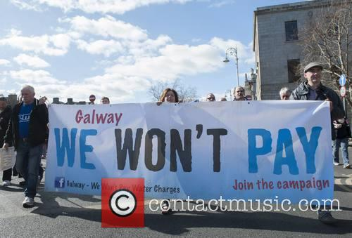 Irish Water Protesters 10
