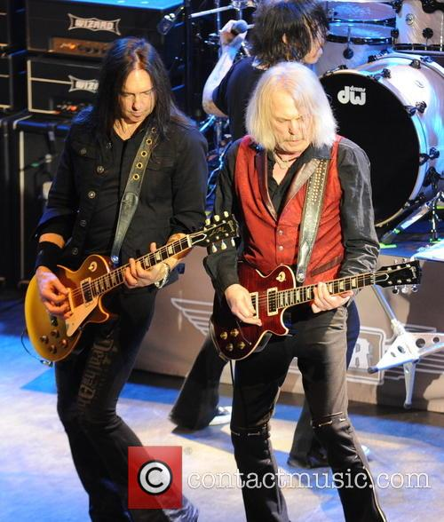 Damon Johnson and Scott Gorham 2
