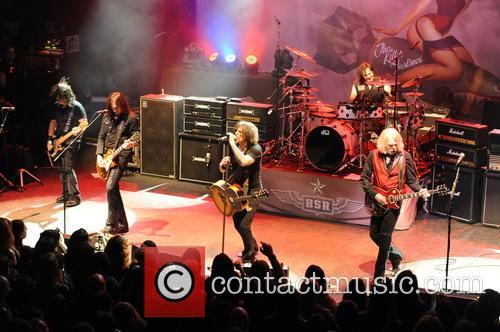 Robbie Crane, Damon Johnson, Ricky Warwick, Jimmy Degrasso and Scott Gorham 1
