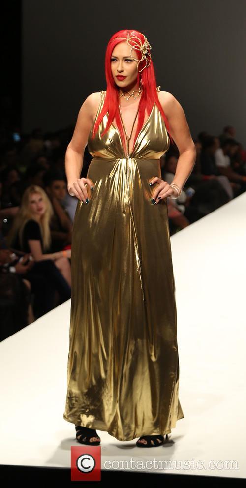 Kaya Jones 2015 Los Angeles Style Fashion Week 4 Pictures