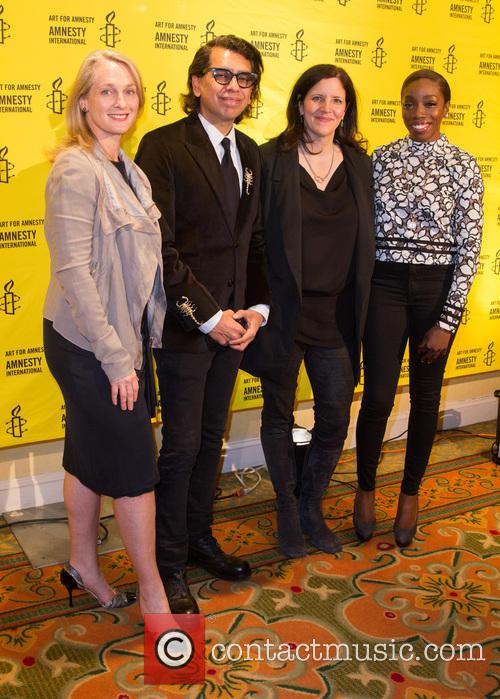 Piper Kerman, Nusrat Durrani, Laura Poitras and Estelle 6