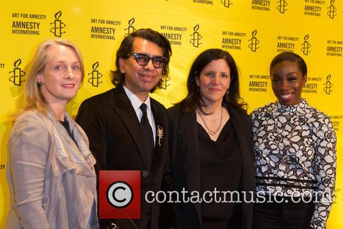 Piper Kerman, Nusrat Durrani, Laura Poitras and Estelle 7