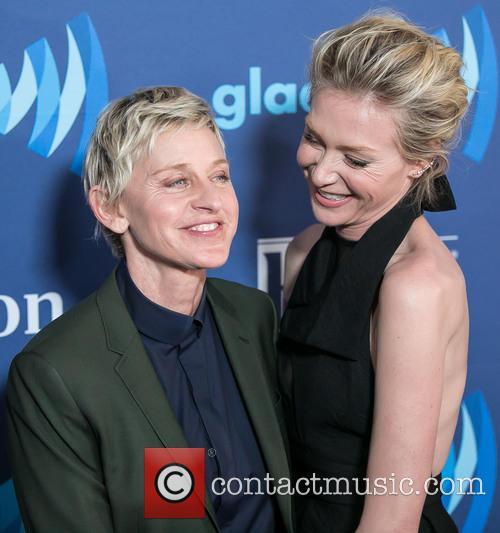 Ellen Degeneres and Portia De Rossi