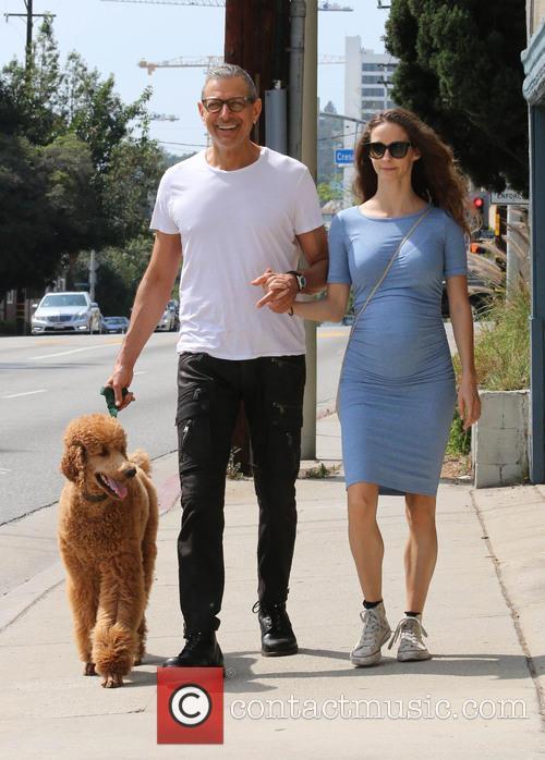 Jeff Goldblum and Emilie Livingston 5