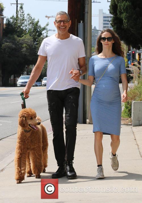 Jeff Goldblum and Emilie Livingston 6