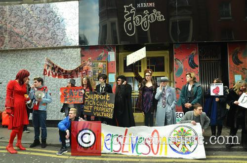 Sos Save Soho Protest 4