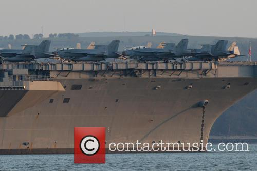 Uss Theodore Roosevelt and Solent 2