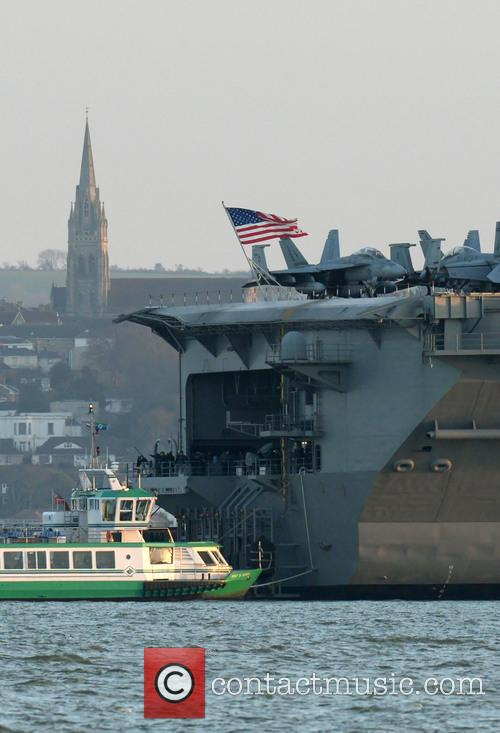 Uss Theodore Roosevelt and Solent 4