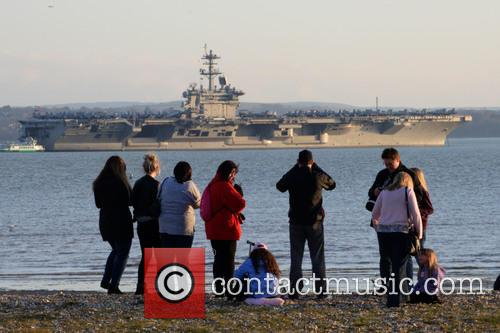 Uss Theodore Roosevelt and Solent 11