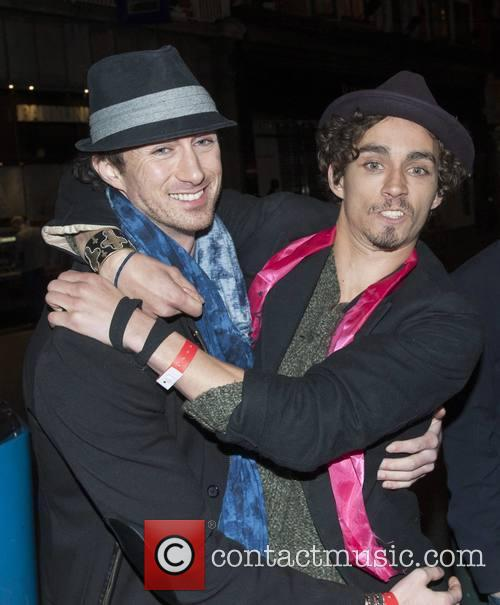 Brendan Sheehan and Robert Sheehan 1
