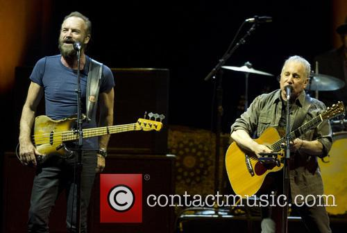 Sting and Paul Simon 3