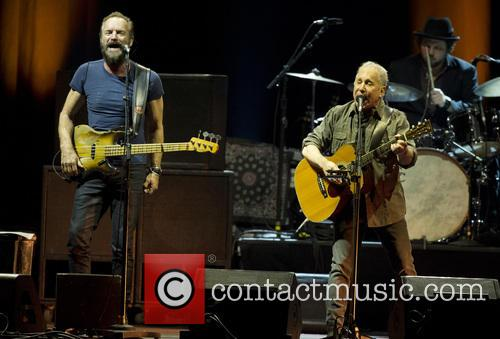 Sting and Paul Simon 4