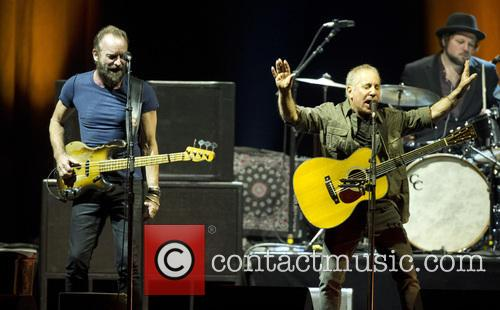 Sting and Paul Simon 7