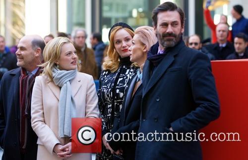 Elisabeth Moss and Jon Hamm 2