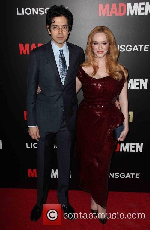 Geoffrey Arend and Christina Hendricks 2