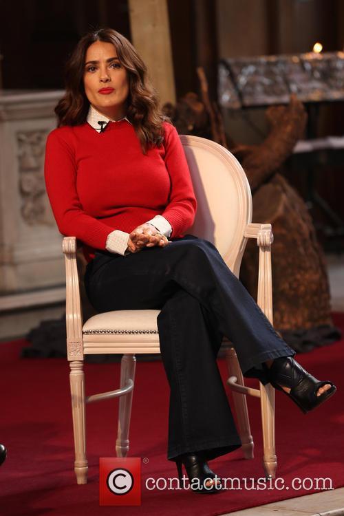 Salma Hayek  attends Advertising Week Europe