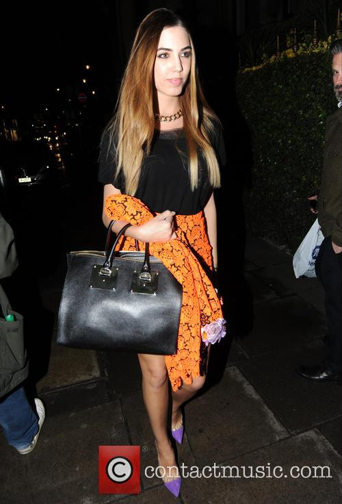 Amber Le Bon seen out in London