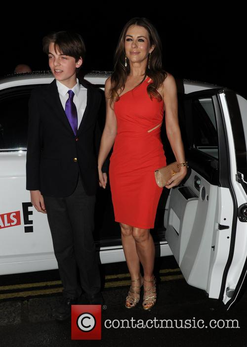 Elizabeth Hurley and Damian Charles Hurley 1