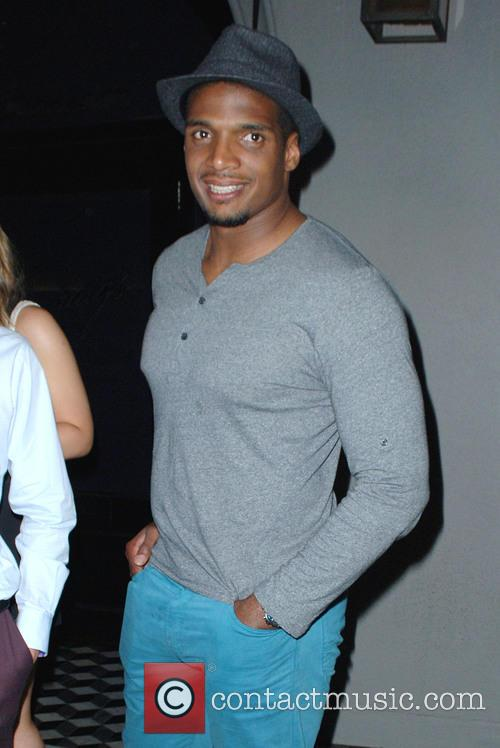Michael Sam leaving Craig's with his boyfriend and...
