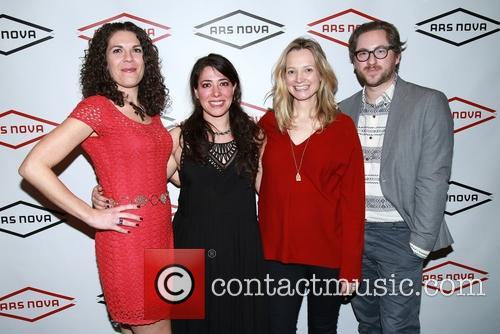 Renee Blinkwolt, Rachel Chavkin, Bess Wohl and Jason Eagan 6