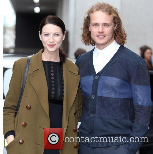 Catriona Balfe and Sam Heughan 7
