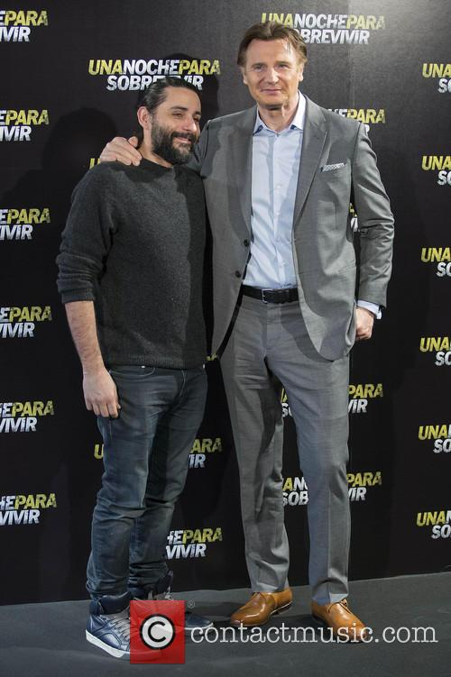 Jaume Collet-serra and Liam Neeson 3