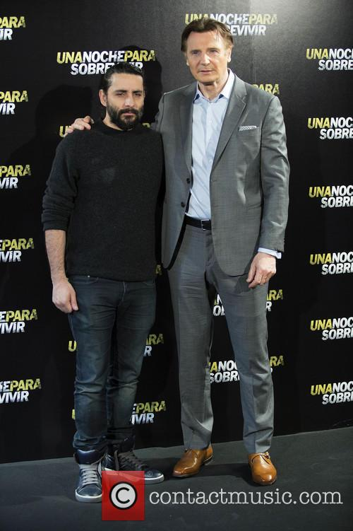Jaume Collet-serra and Liam Neeson 4