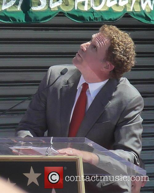 Will Ferrell Star on The Hollywood Walk Of...