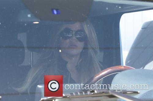 Khloe Kardashian leaving Meche salon
